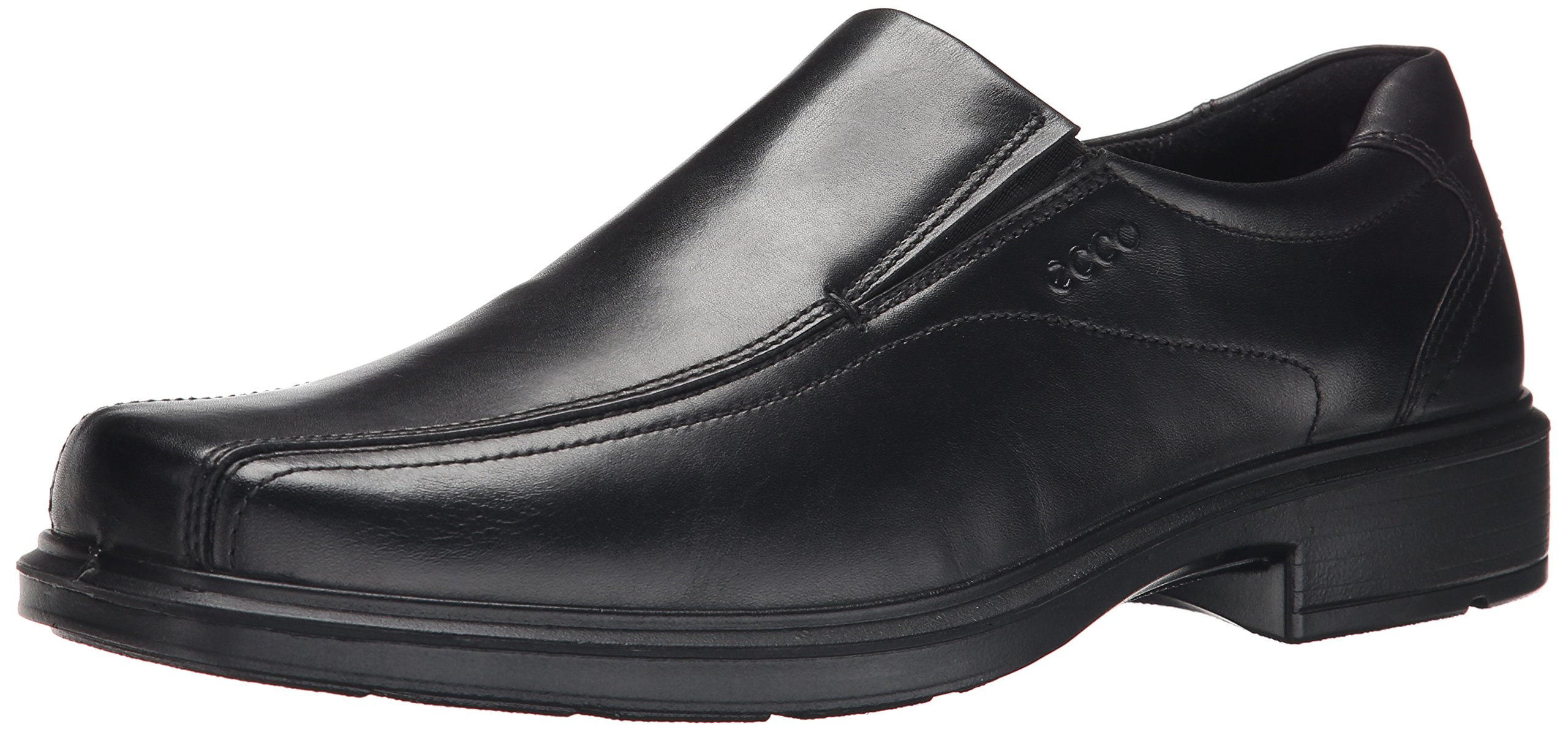 ECCO Men's Helsinki Slip-On,Black,47 EU (US Men's 13-13.5 M)