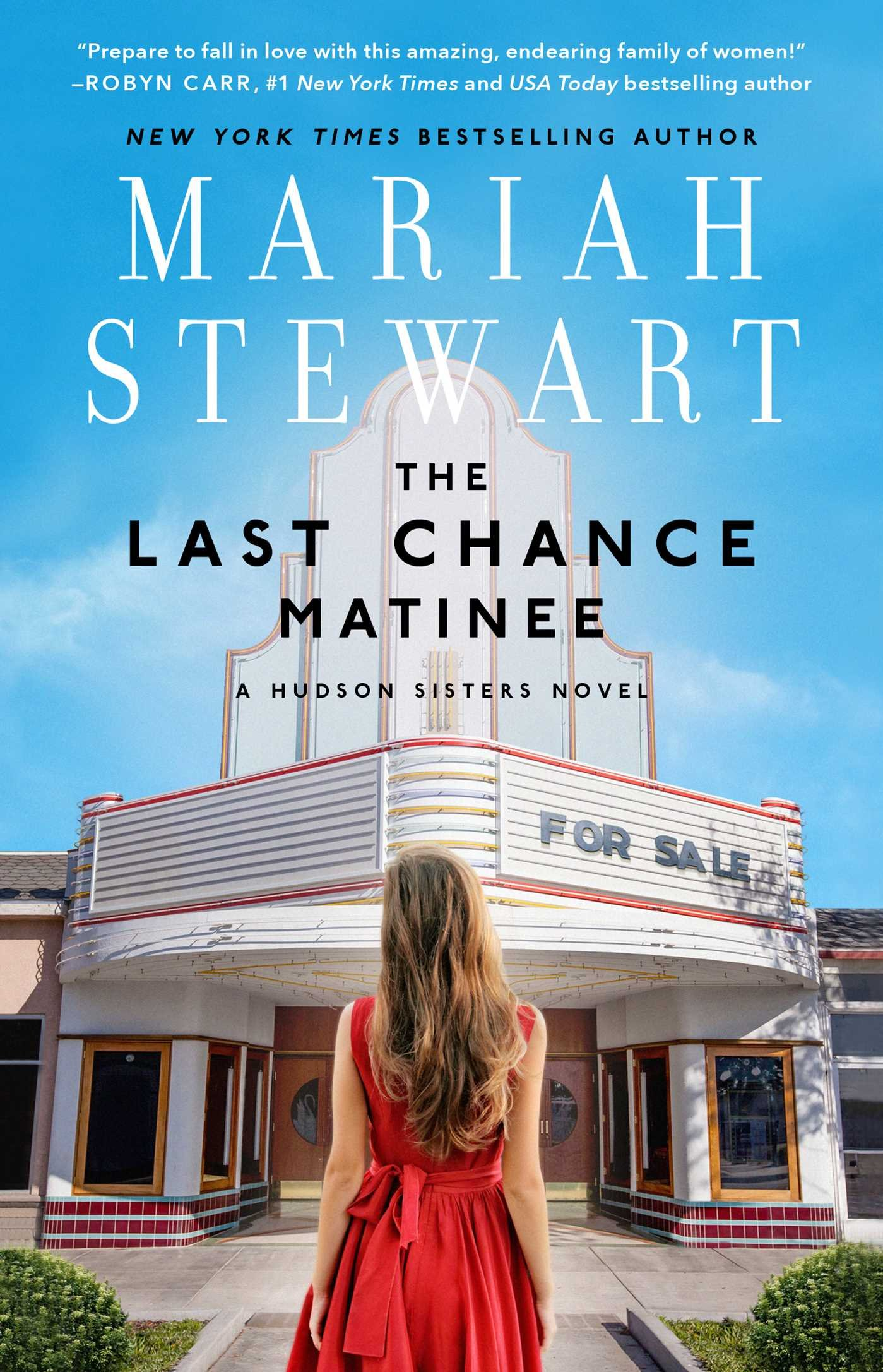 The Last Chance Matinee: A Book Club Recommendation! (The Hudson ...