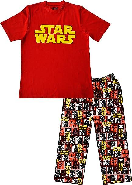 Star Wars - Pijama - para hombre rojo XXL