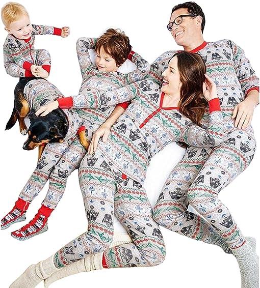 lichene papa mama kids baby family matching christmas pajamas pants sets christmas xmas gift for the