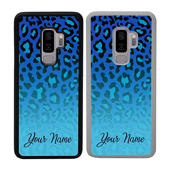 Amazon com: Leopard Print Personalised Phone Case for Samsung Galaxy