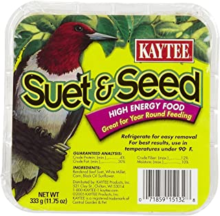 product image for Kaytee Suet Cake Seed Pet Foodm, One Size