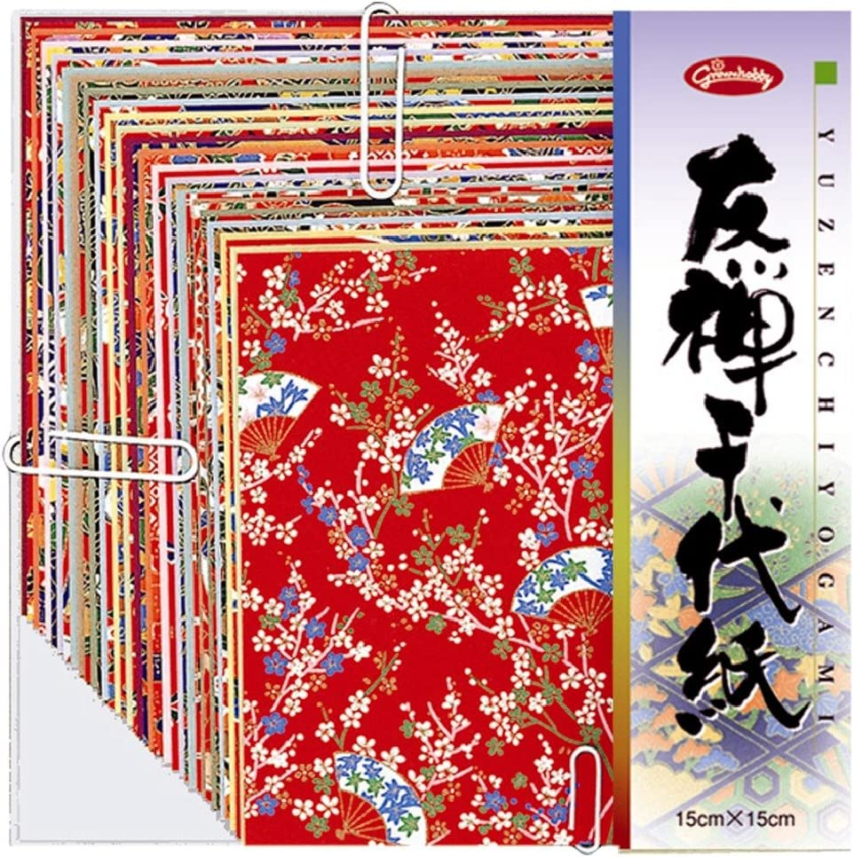 Yuzen Chiyogami 210/×210mm 83-0603