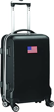 Navy Countries of World Soccer Carry-On Hardcase Luggage Spinner