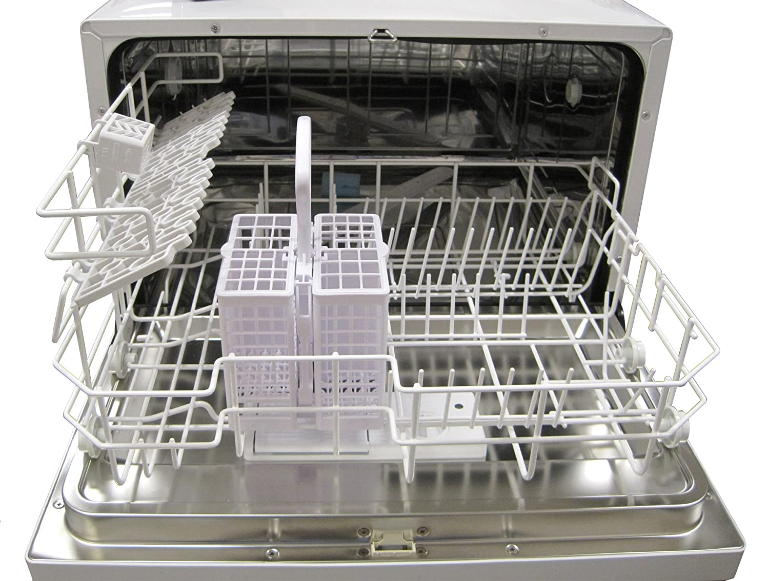 Mini Dishwashers Amazoncom Spt Countertop Dishwasher Silver Appliances