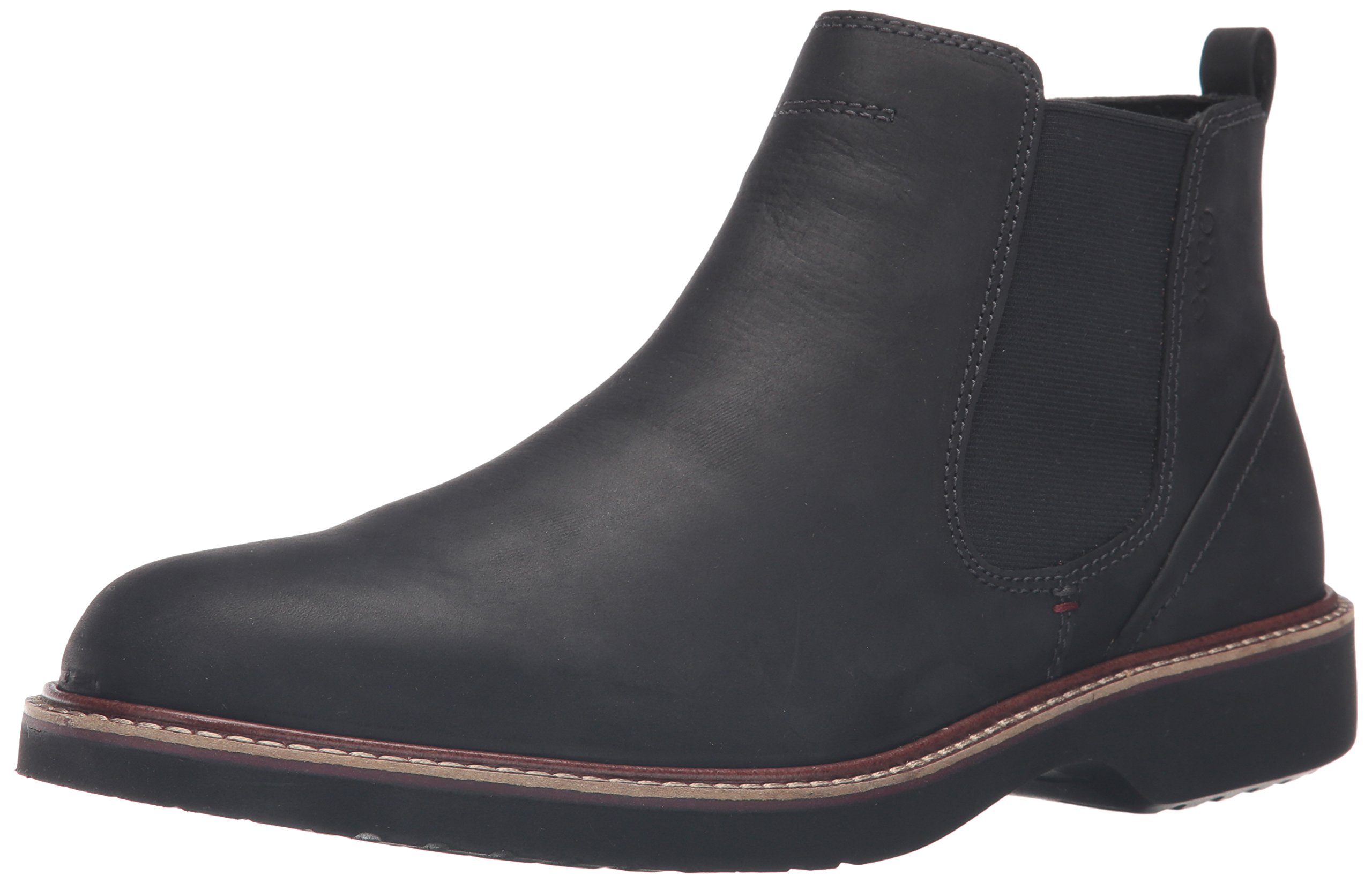 ECCO Men's Ian Chukka Boot, Black, 43 EU/9-9.5 M US