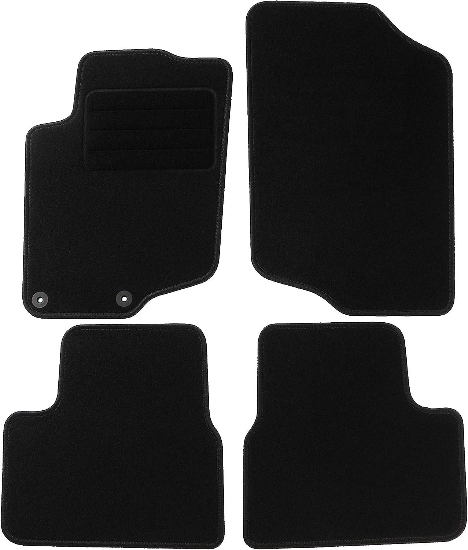 Carmat Texer Textil Fußmatten Passend Für Peugeot 207 Bj 2006 2012 Basic Auto