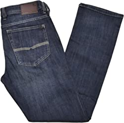Buffalo David Bitton Mens Driven-X Basic Straight Stretch Jean