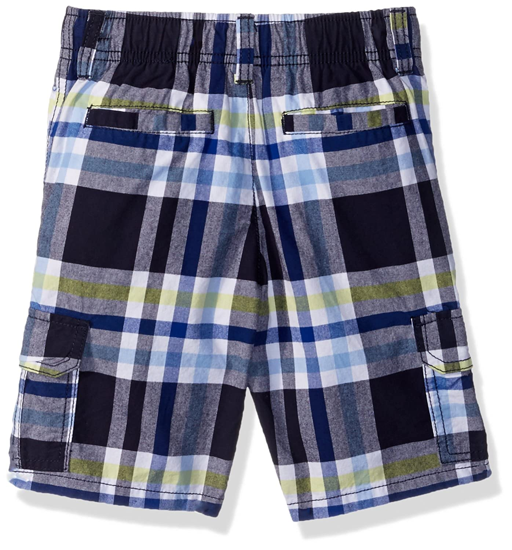 caa8aabf79 Clothing, Shoes & Jewelry Gymboree Boys Drawstring Plaid Cargo Shorts