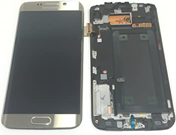 Samsung Galaxy S6 EDGE G925 LCD + Touch Screen Digitizer + Back Frame &  Home Button Complete, 100% Original Brand New LCD SCREEN REPLACEMENT REPAIR
