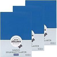 3er Sparpack Julius Zöllner Jersey Spannbetttuch Spannbettlaken 70x140 / 60x120