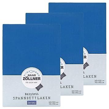 60x120 Ecru doppelpack NEU Julius Zöllner Spannbetttuch Jersey 70x140