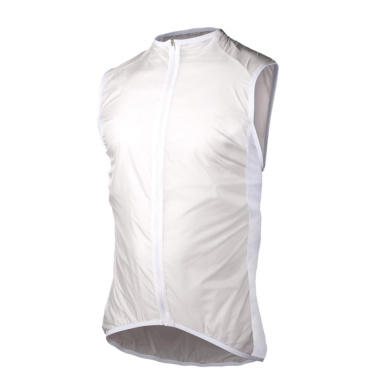 Blanc L POC AVIP lumière Wind Vest Blanc Coupe Vent Velo