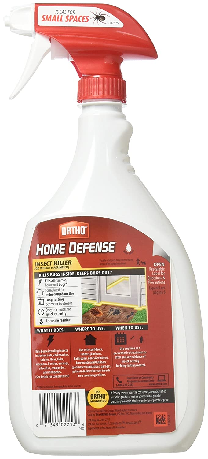 Amazon Ortho 0196410 Home Defense Max Insect Killer Spray For