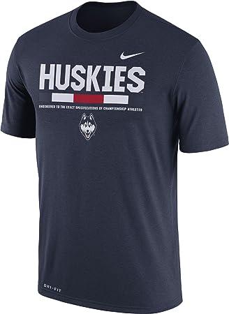 Nike Hombre Uconn Huskies Personal Legend Camiseta de fútbol Azul, Azul