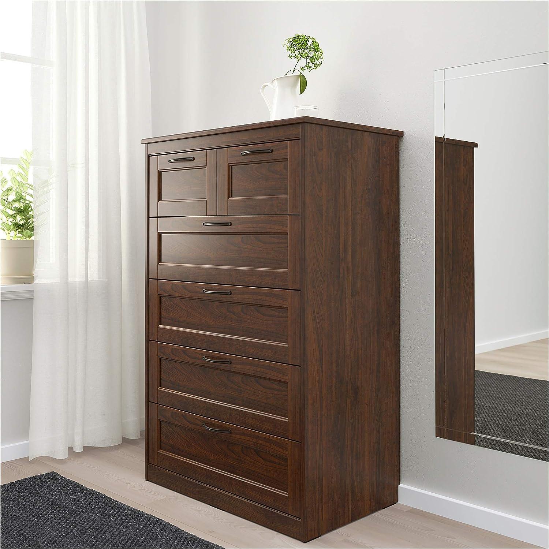 Ikea Songesand Kommode Mit 6 Schubladen Braun Amazon De Kuche