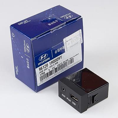 Genuine Hyundai 96120-1R000-9Y Aux and USB Jack Assembly: Automotive