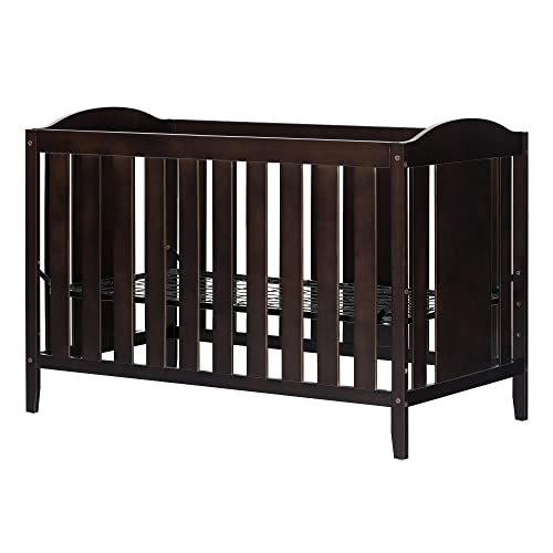 Angel Crib and Toddler Bed – Convertible Nursery Furniture for your Baby – Espresso – by South Shore