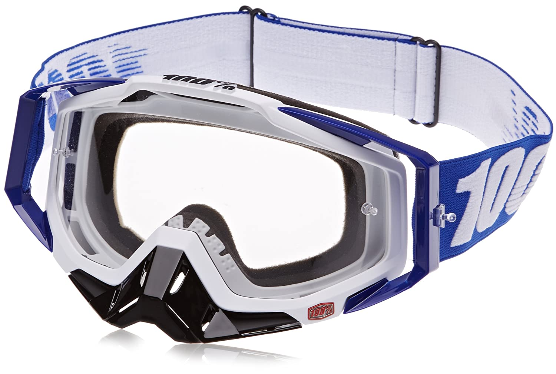 100% 50100-002-02 RACECRAFT Brille Cobalt Blau - klar Linse