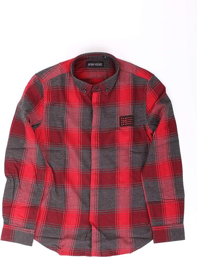 Antony Morato MKSL00184 Camisa niño Rot 14a: Amazon.es: Ropa y accesorios