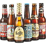 Beer Hawk Craft Beer Favourites Selection – 6 Beer Mixed Case Gift Set