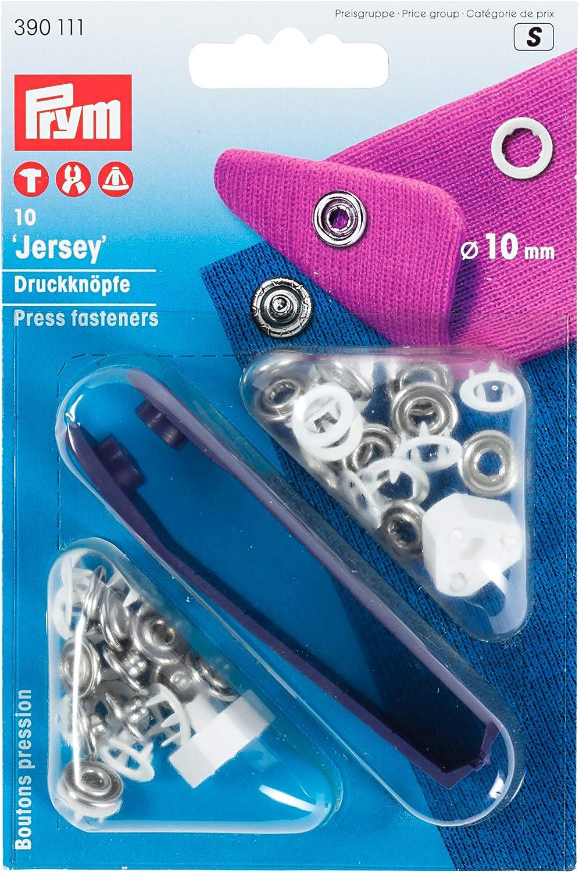 Prym Jersey MS - Botones de presión y Arandelas dentadas, 10 mm ...