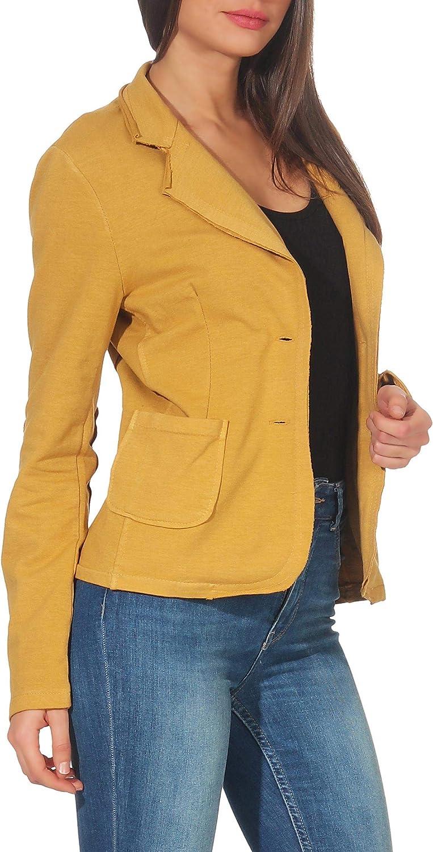 Malito Classic Blazer in The Basic-Look Sweatblazer Business Jacket Sportblazer Blouson 1651 Women