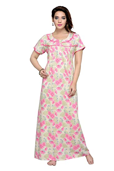 da98fdb37bde4 Soulemo Pink Nighty 530A_M: Amazon.in: Clothing & Accessories