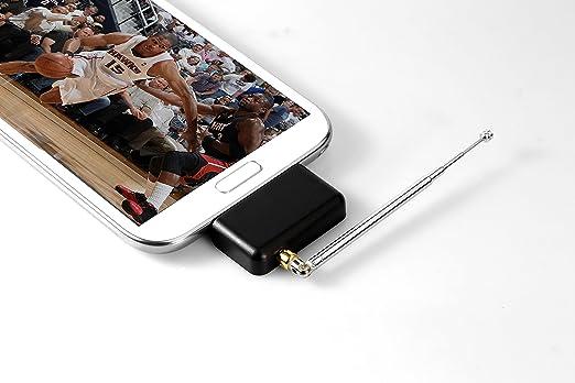 Technaxx 4044 - Antena de TV para Tablet, Negro