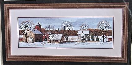 SIMPLICITY CREATIVE CORP 3841 Cross Stitch 18 Count Scenic Farm