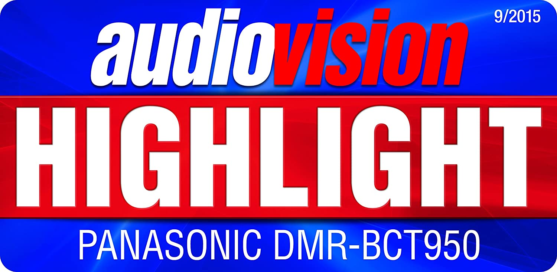 mit 1 TB Festplatte, f/ür DVB-S, Twin HD Tuner, 4K Upscaling, WLAN, VoD, TV Anywhere, 2x CI+, HbbTV schwarz Panasonic DMR-BST850EG Blu-ray Recorder