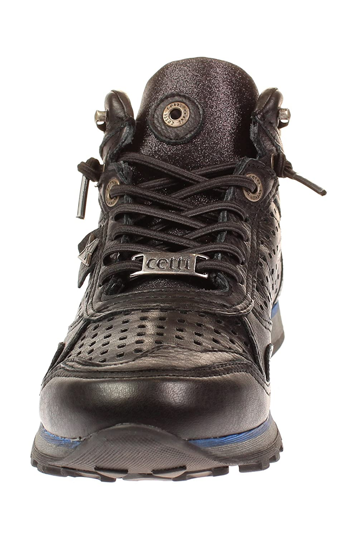 Cetti C1048 SRA - - - Damen Schuhe Turnschuhe - nat-schwarz 5acc93
