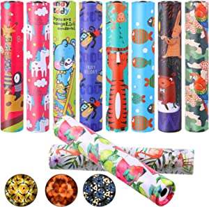 Sumind 10 Pieces Classic Kaleidoscope Toys Magic Kaleidoscopes Educational Toy Kaleidoscope for Kids Children Birthday and Party Favors, Random Colors