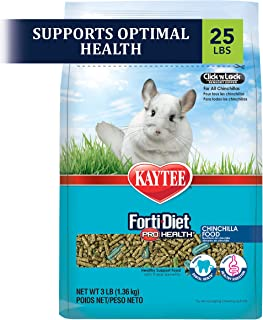 product image for Kaytee Forti Diet Pro Health Small Animal Food For Chinchillas, 25-Pound