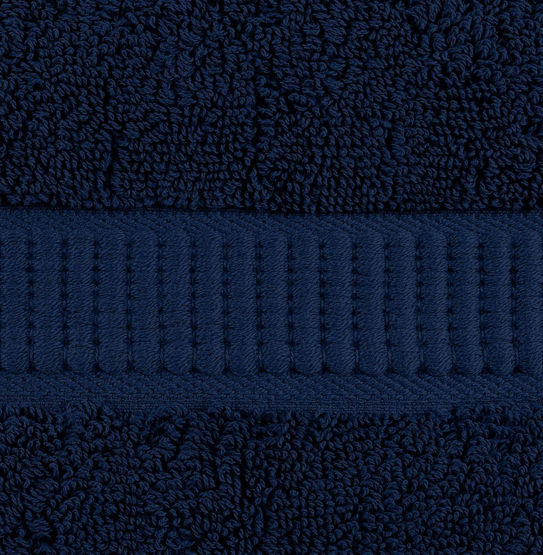 Utopia Towels 2 toallas de ba/ño grandes 90 x 180 cm, Azul Marino