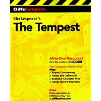 CliffsComplete Shakespeare's The Tempest: Complete Study Edition
