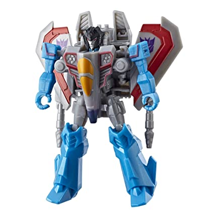 Amazon Com Transformers Cyberverse Scout Class Starscream Toys Games