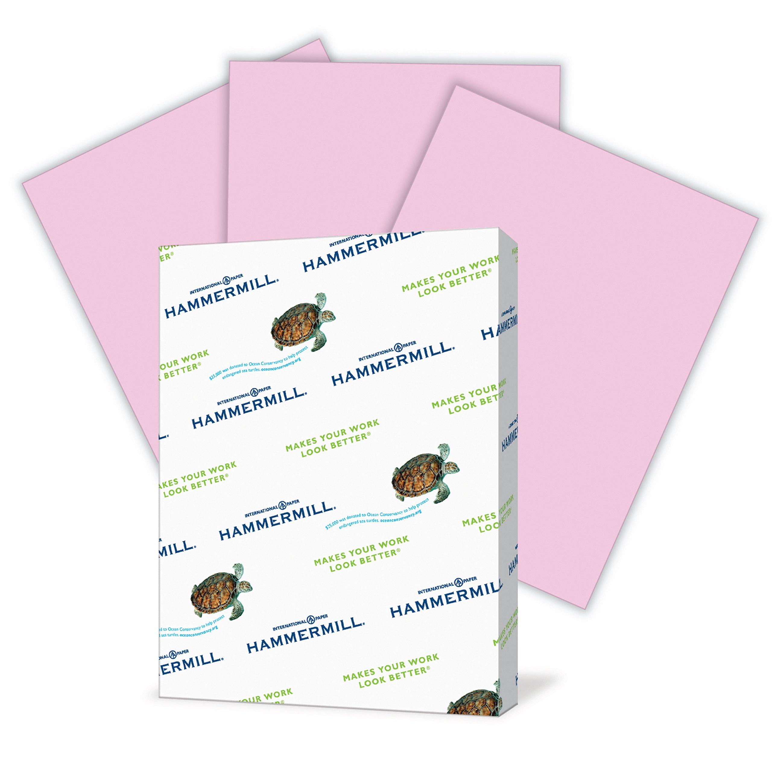 Hammermill Colored Paper, Lilac Printer Paper, 20lb, 8.5x11 Paper, Letter Size, 500 Sheets / 1 Ream, Pastel Paper, Colorful Paper (102269R) by Hammermill