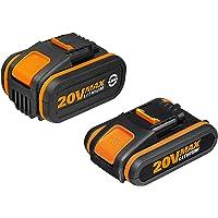Worx WA3605 Baterías, 80 W, 20 V, Set