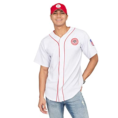a66160f1 Add Your Own Name and Number Rockford Peaches AAGPBL Baseball Mens Jersey  and Hat (Personalized