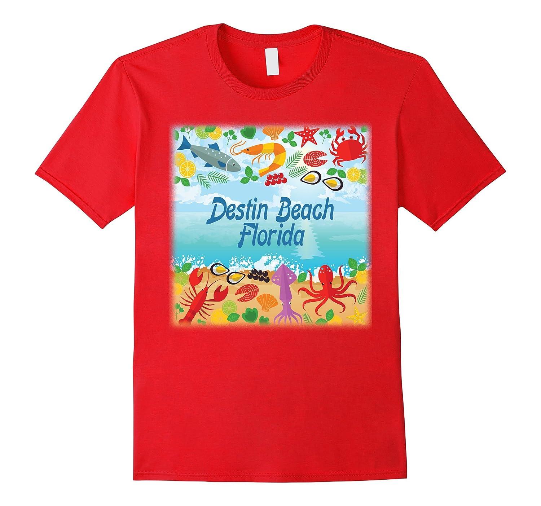 Destin Beach Florida Fun Music Dance Boating Fishing T Shirt-Art