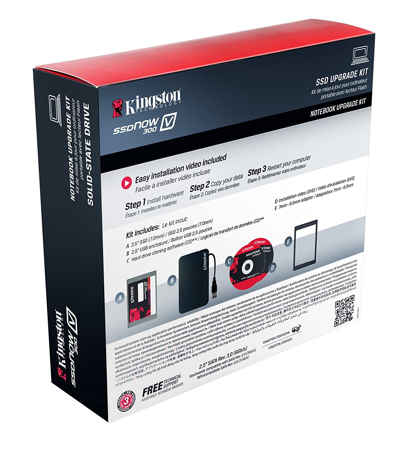 Kingston Digital SSDNow Notebook Bundle Kit with Adapter Solid State Drive - Review
