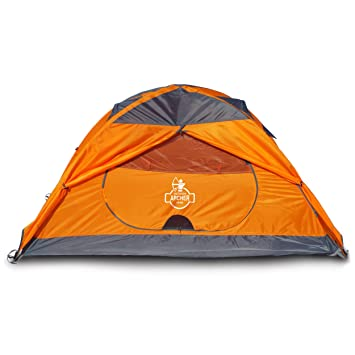 Archer Outdoor Gear 1 Man C&ing u0026 Backpacking Tent Ultralight Spacious u0026 Waterproof  sc 1 st  Amazon.com : best 1 man tents - memphite.com
