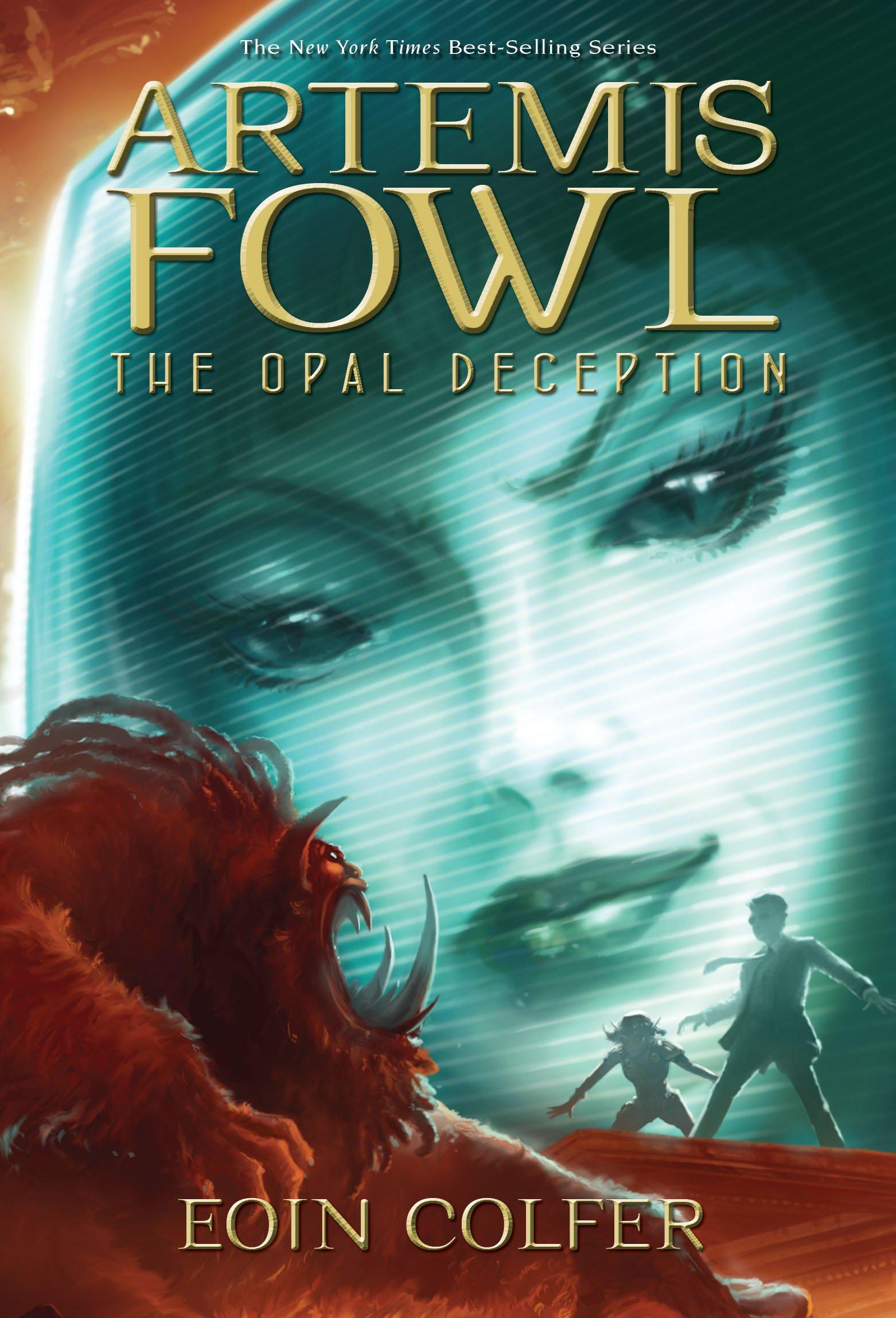 Amazon Com Artemis Fowl The Opal Deception Book 4 9781423124559