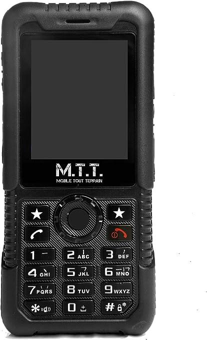 MTT Robust+ - Teléfono móvil GSM, color negro [Importado de ...