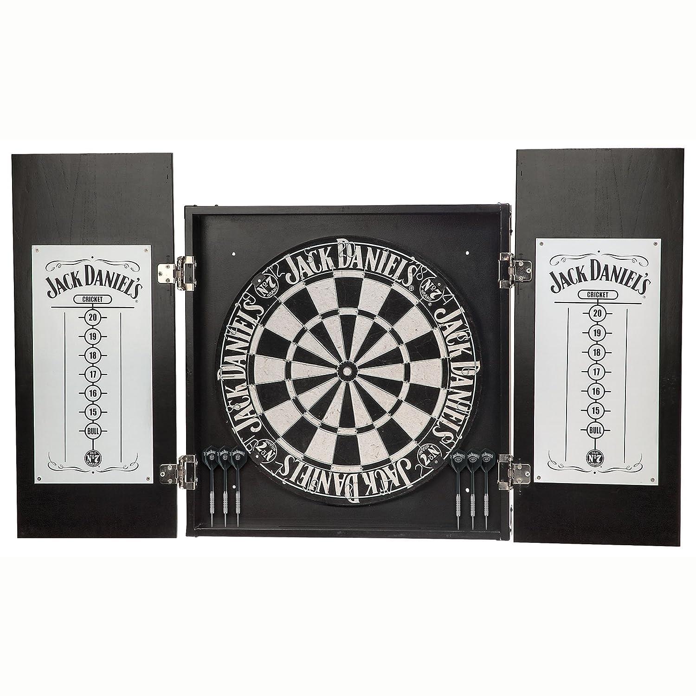 Jack Danielu0027s Dartboard Cabinet Set