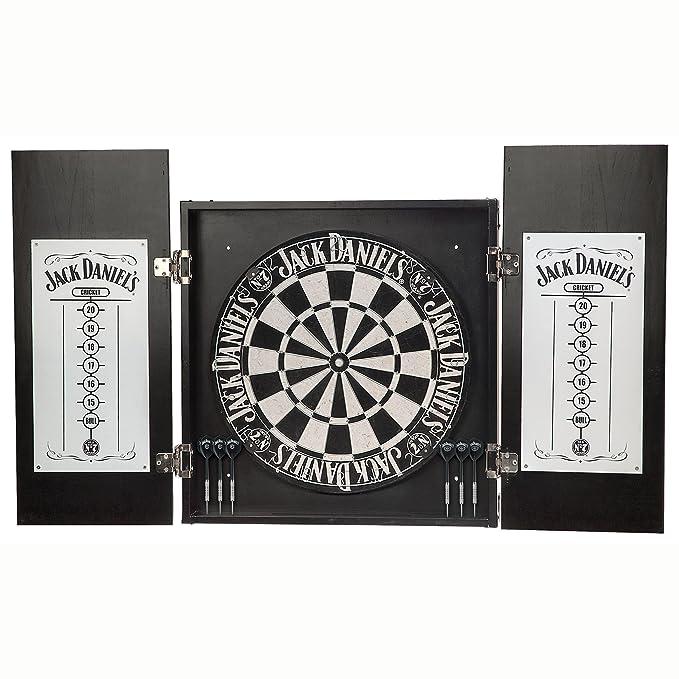 Amazon.com: Jack Daniel s Old No. 7 (Dartboard Gabinete Set ...
