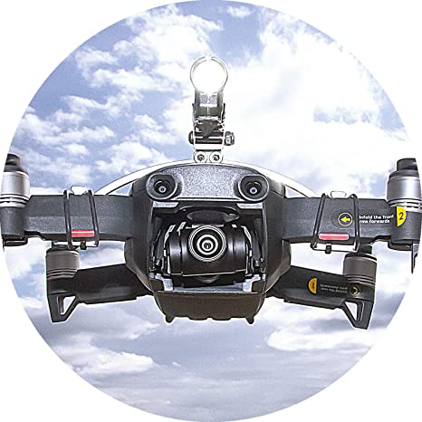 JXE Kit de faros delanteros LED de vuelo nocturno accesorios de iluminaci/ón luz de navegaci/ón para DJI MAVIC Air Drone
