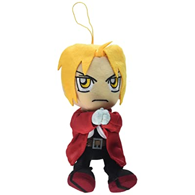 Great Eastern Entertainment Fullmetal Alchemist Edward Sitting Pose Plush: Toys & Games
