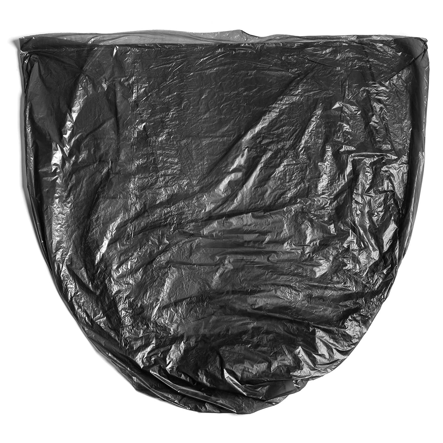 Aluf Plastics 7-10 Gallon Trash Bags - - Source Reduction Series Value High Density 6 Micron Gauge Office equiv Paper Bathroom Commercial 1000 Pack Styrofoam - Intended for Home